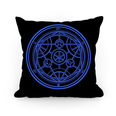 Transmutation Circle Pillow