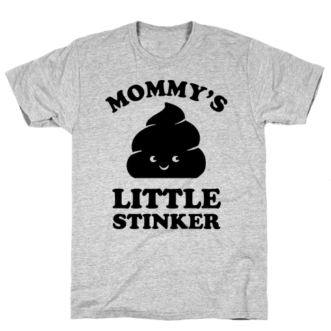 Mommy's Little Stinker Mens T-Shirt