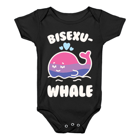 Bisexu-WHALE Baby Onesy