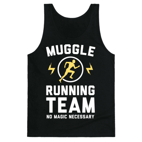 Muggle Running Team - No Magic Necessary Tank Top