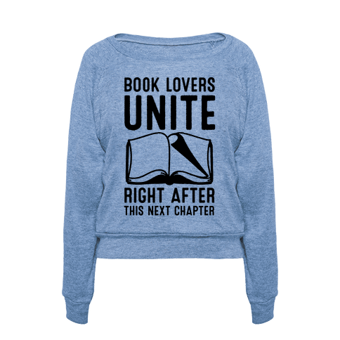 Book Lovers Unite pullover