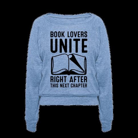 Book Lovers Unite pullover