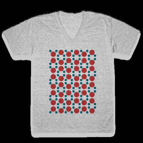 Wet T-Shirt V-Neck Tee Shirt