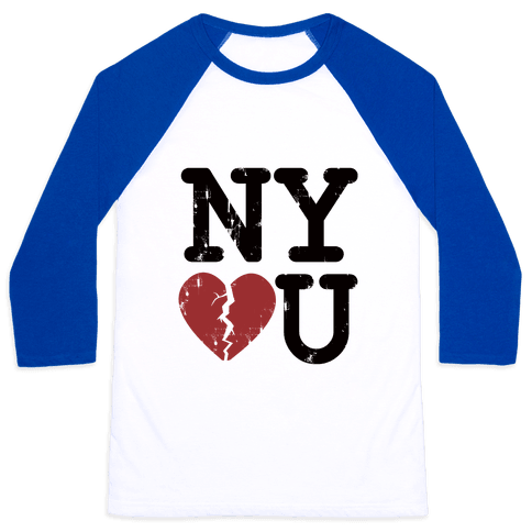 New York Don't Love You Baseball Tee
