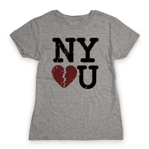 New York Don't Love You Womens T-Shirt