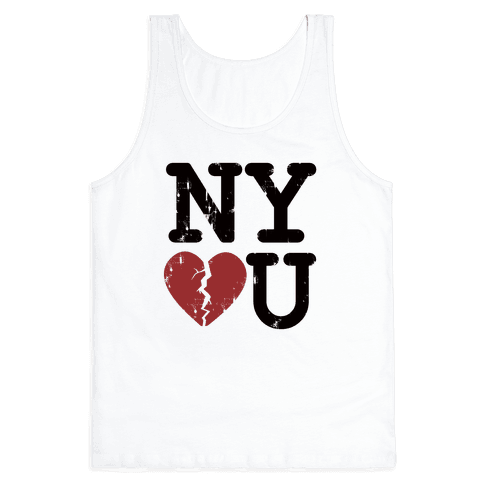 New York Don't Love You Tank Top