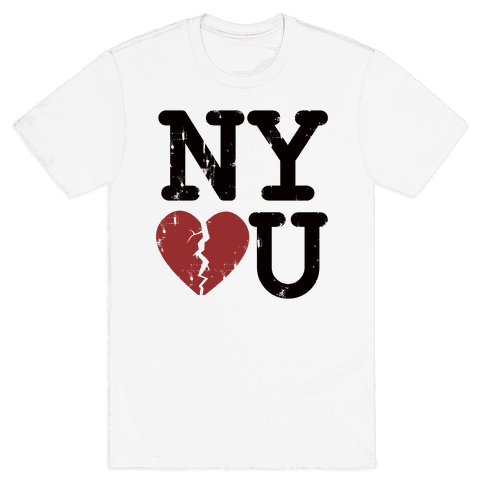 New York Don't Love You Mens T-Shirt