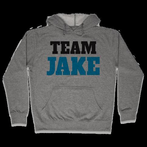 Team Jake (Tank) Hooded Sweatshirt
