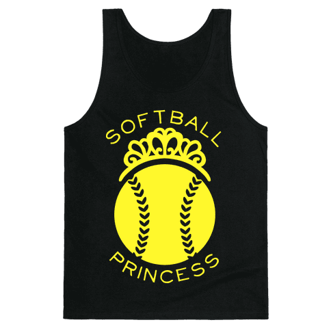 Softball Princess (Tank) Tank Top