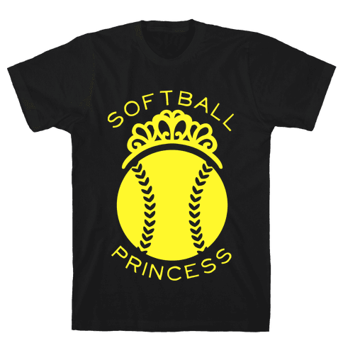Softball Princess (Tank) Mens T-Shirt