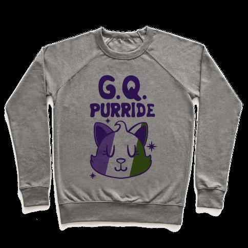 Genderqueer Purride Pullover