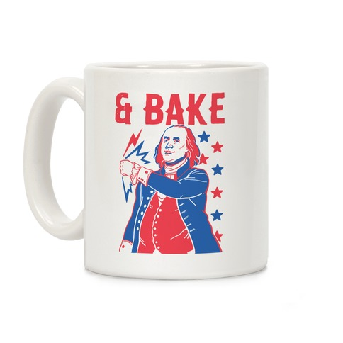 Shake & Bake: Benjamin Franklin Coffee Mug