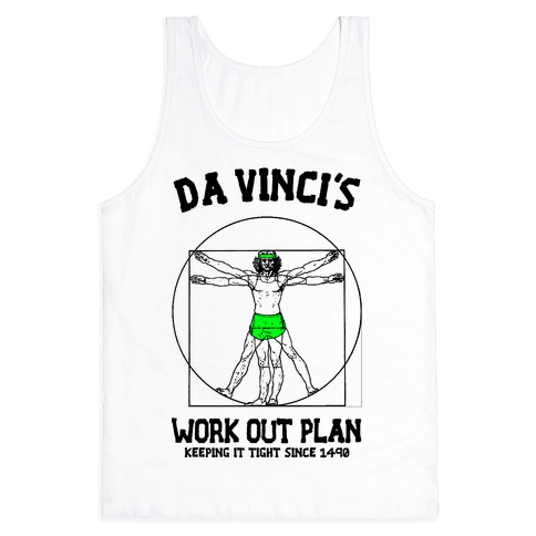 Da Vinci's Work Out Plan (Green)