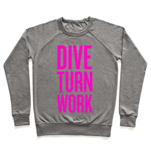 Dive Turn Work Pullover