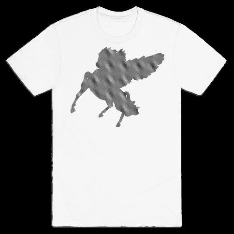 Greek Pegasus Mens T-Shirt