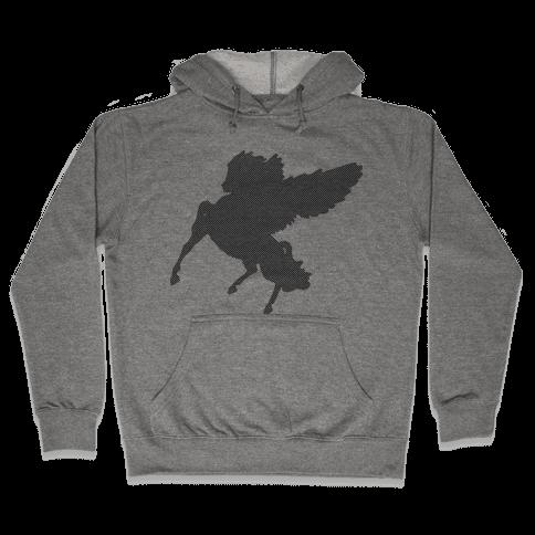 Greek Pegasus Hooded Sweatshirt