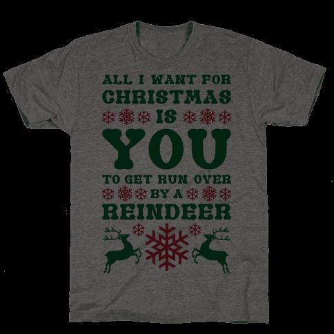 Run Over By A Reindeer