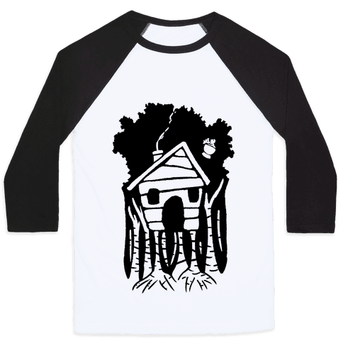 Yaga's House On Hen's Legs Baseball Tee