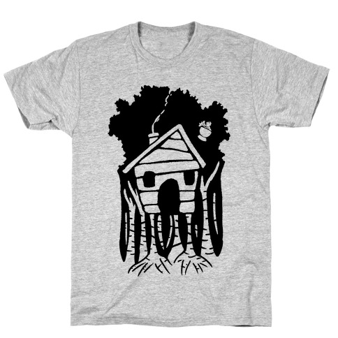 Yaga's House On Hen's Legs Mens T-Shirt