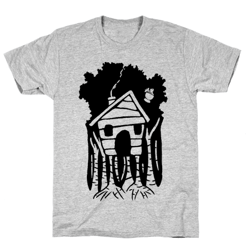 Yaga's House On Hen's Legs Mens T-Shirt