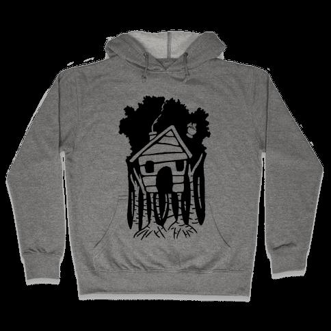 Yaga's House On Hen's Legs Hooded Sweatshirt