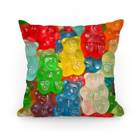 Gummy Bear Pillow Pillow