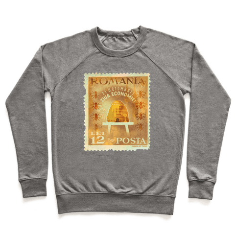 Romanian Bee Stamp Pullover