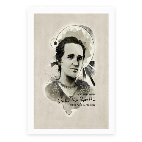 Cecilia Payne-Gaposchkin Famous Astronomer Poster