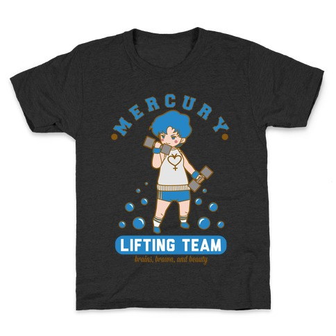 Mercury Lifting Team Parody Kids T-Shirt