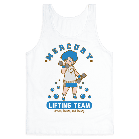 Mercury Lifting Team Parody Tank Top
