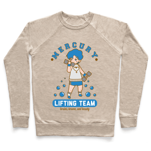 Mercury Lifting Team Parody Pullover