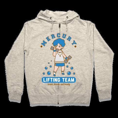 Mercury Lifting Team Parody Zip Hoodie