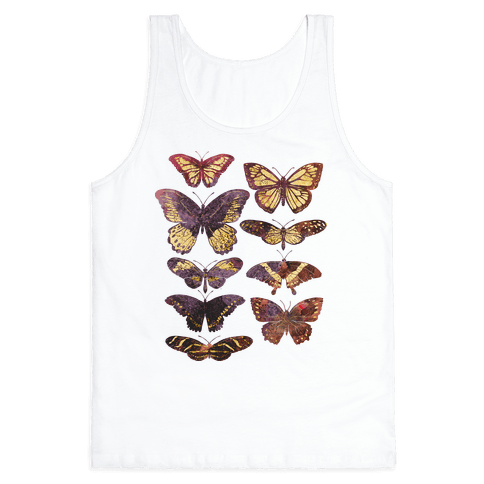 Butterfly Species Tank Top