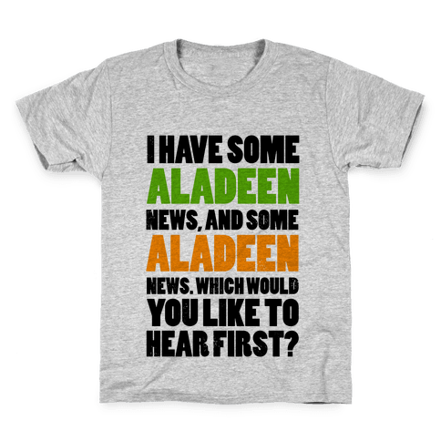 I Have Some Aladeen News... Kids T-Shirt