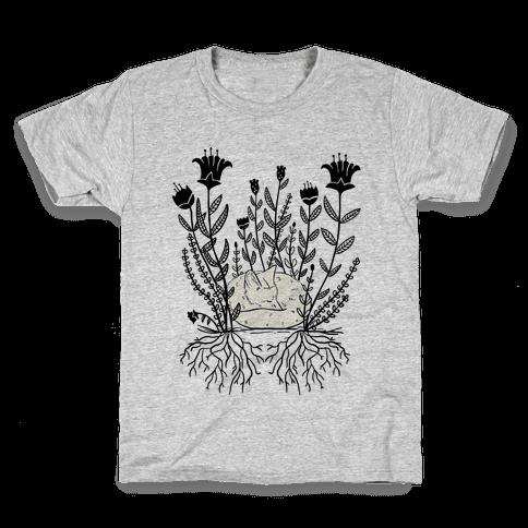 Sleeping Fox Kids T-Shirt