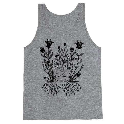 Sleeping Fox Tank Top