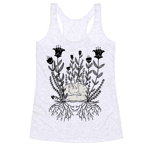Sleeping Fox Racerback Tank Top