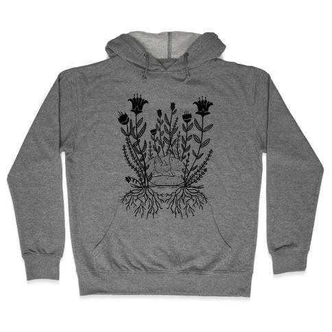 Sleeping Fox Hooded Sweatshirt
