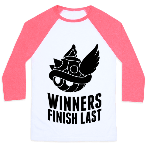 Winners Finish Last In Mario Kart Baseball Tee