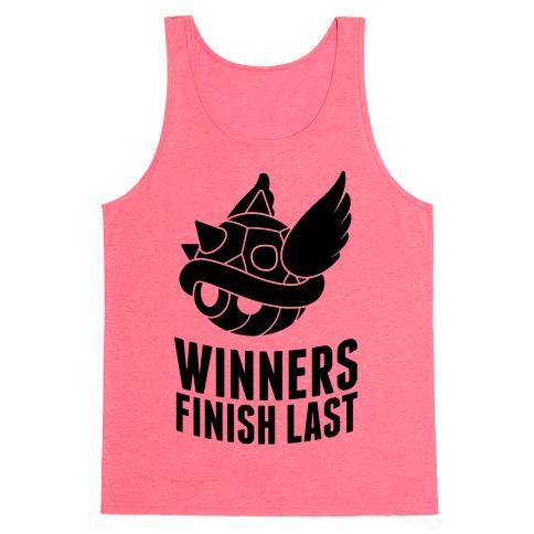 Winners Finish Last In Mario Kart Tank Top