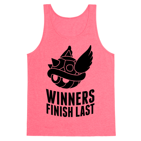 Winners Finish Last In Mario Kart Tank Top