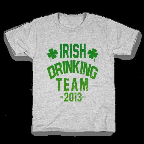 Irish Drinking Team 2013 Kids T-Shirt