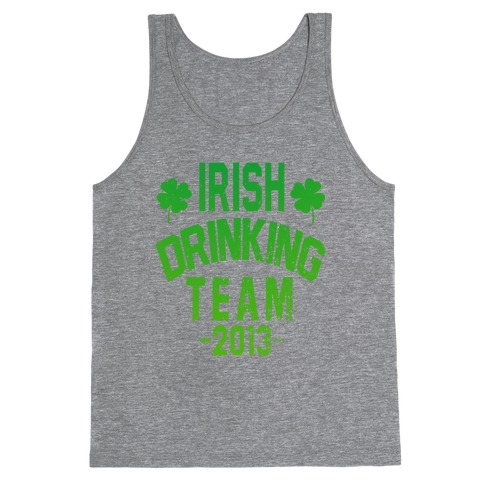 Irish Drinking Team 2013 Tank Top
