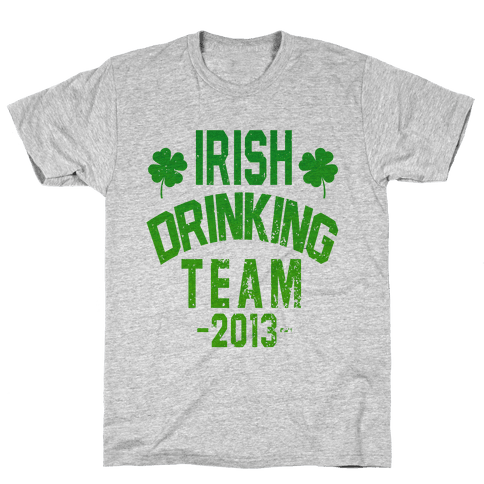 Irish Drinking Team 2013 Mens T-Shirt