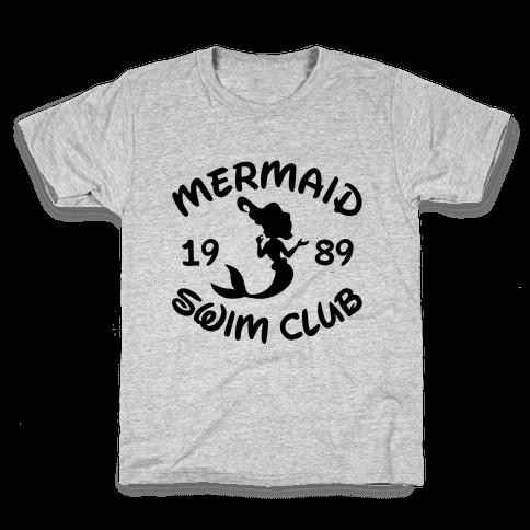 Mermaid Swim Club Kids T-Shirt