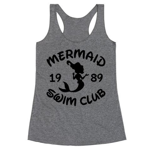 Mermaid Swim Club Racerback Tank Top