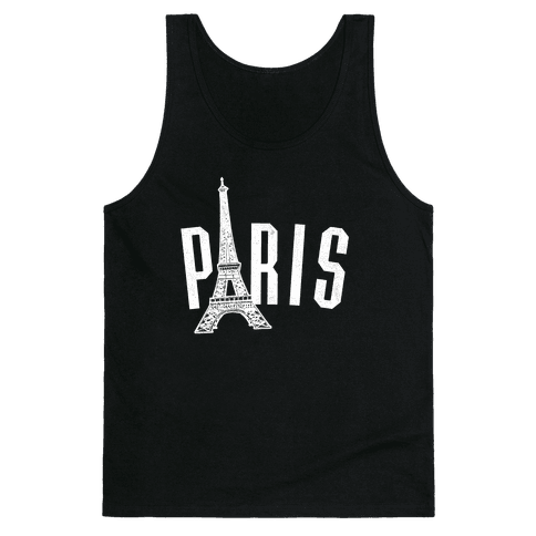 Paris (on dark) Tank Top