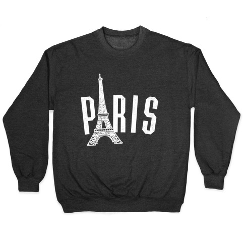 Paris (on dark) Pullover