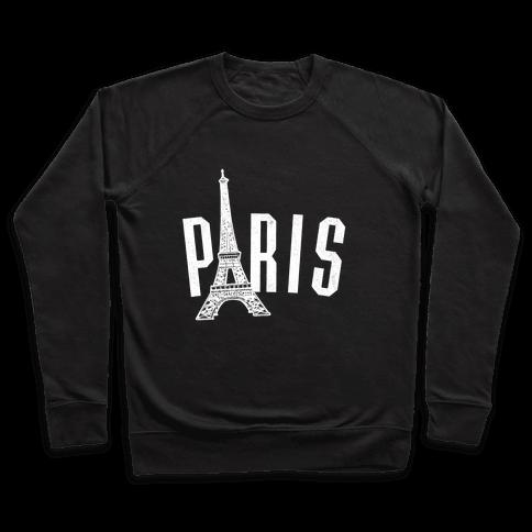 Paris (on dark) Pullover