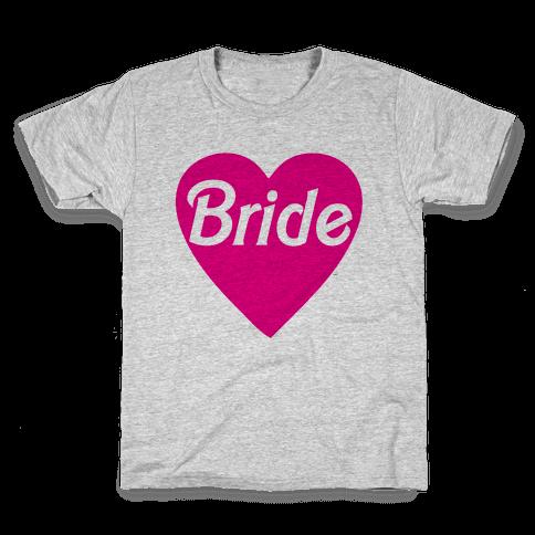Bride Heart Kids T-Shirt
